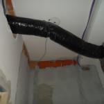 sistema canalizzato aria-aria in PDC come riscaldamento e raffrescamento primario