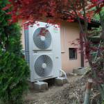 pompa di calore monoblocco in parallelo a caldaia a gasolio
